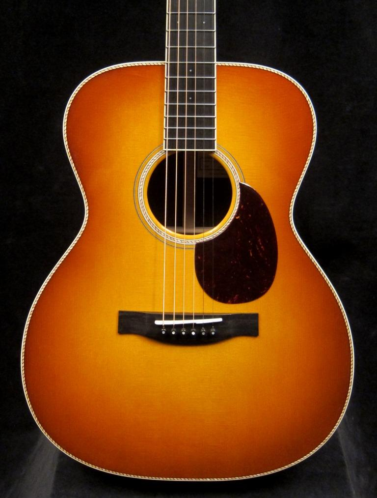 Just Shipped Tue April 3rd: Custom OM Cowboy Moon Spruce