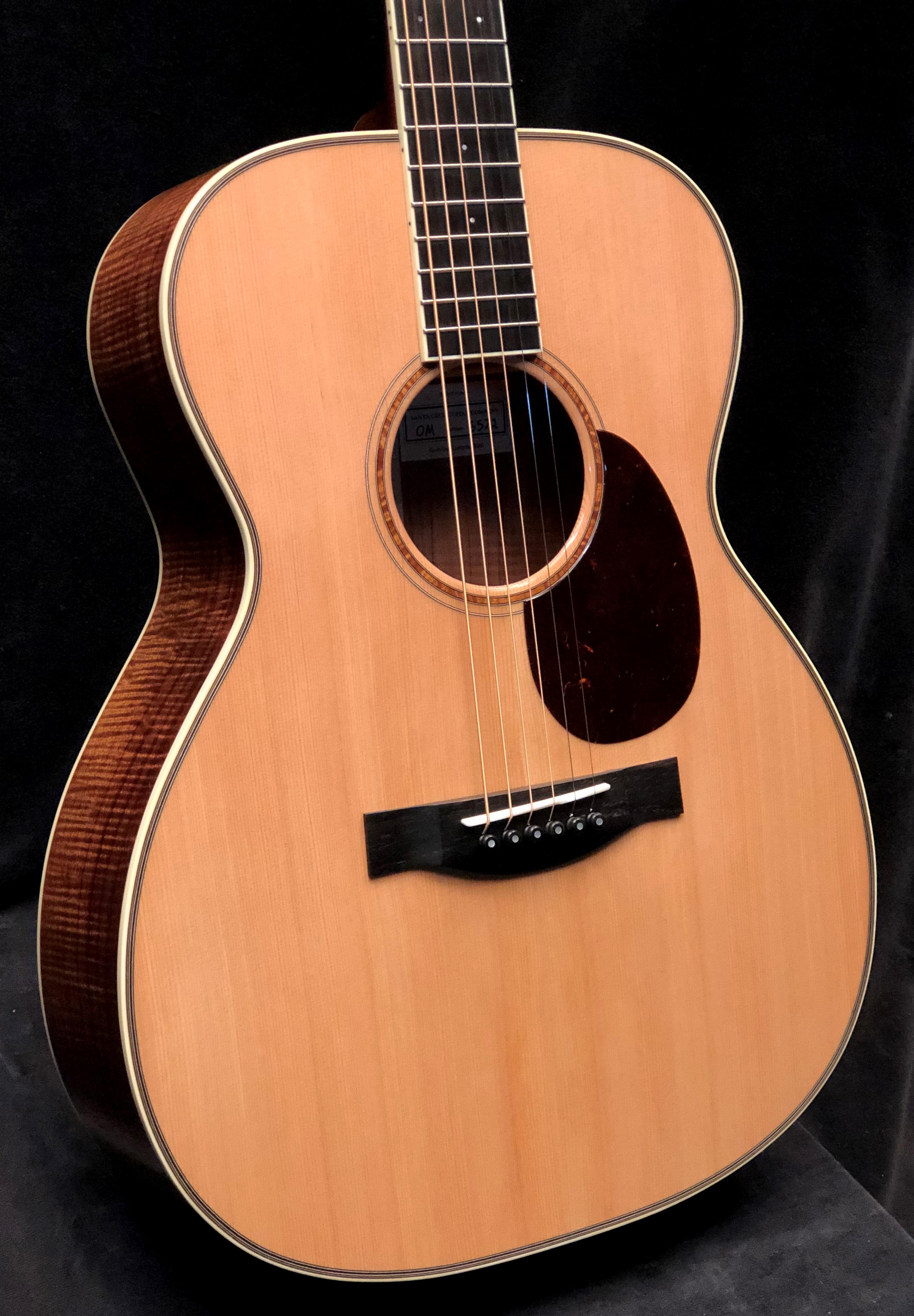 Just Shipped Tuesday December 11th: Custom OM Koa/Cedar