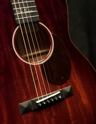 1929 style ivoroid with tortoise rosette on Mahogany