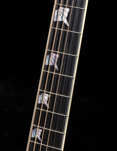 Mother of Pearl Art Deco fingerboard inlay