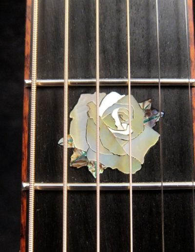 Custom fingerboard inlay