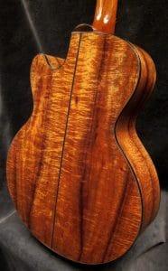 Just Shipped Wed Sept 6th: Custom Koa/Redwood FS Model