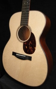 Just Shipped Tue Aug 28th: OM Figured Mahogany/Bear Claw Italian