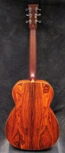 Just shipped Mon Sept 18th: Custom OMPW Cocobolo/Redwood
