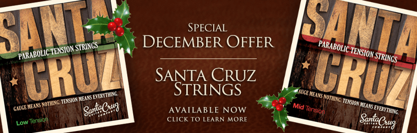 santa cruz parabolic tension strings low tension santa cruz guitar company. Black Bedroom Furniture Sets. Home Design Ideas