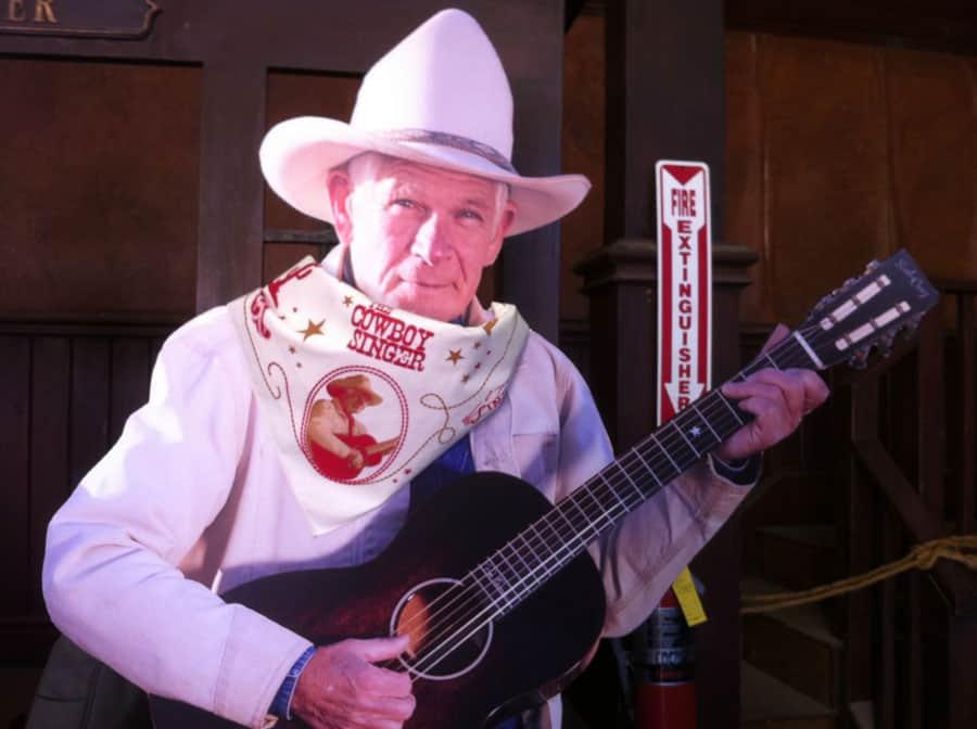 Cowboy Singer Bandana